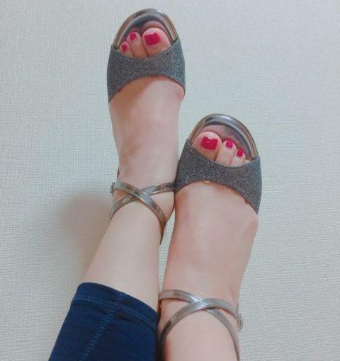 他人の靴の……